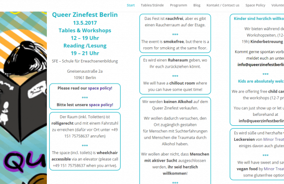 Quelle: Screenshot von http://queerzinefestberlin.net