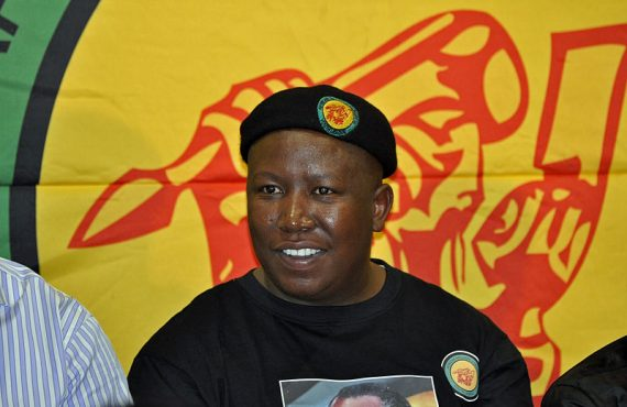 Bildquelle: https://commons.wikimedia.org/wiki/File:Julius_Malema_2011-09-14.jpg